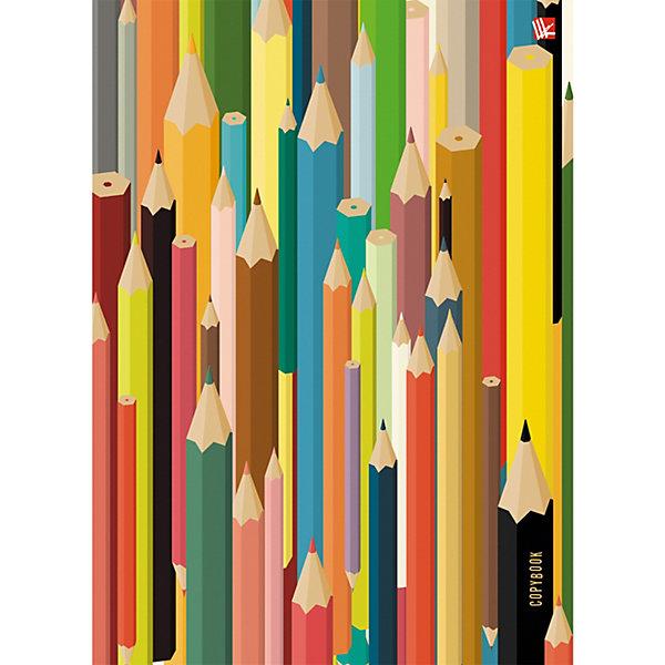 Купить Тетрадь со сменными блоками Канц-Эксмо Цветные карандаши А5, 100 листов, Россия, разноцветный, Унисекс