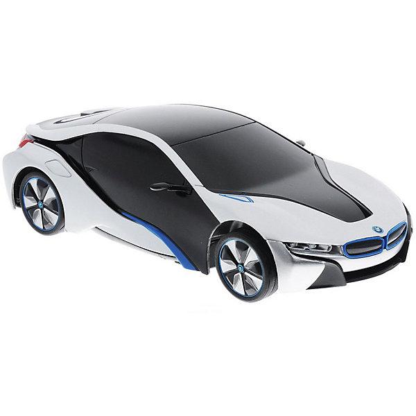 Радиоуправляемая машинка Rastar BMW I8 1:24, белая