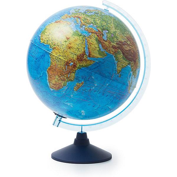 Купить Глобус Земли Globen физический с подсветкой, 320мм, Россия, разноцветный, Унисекс