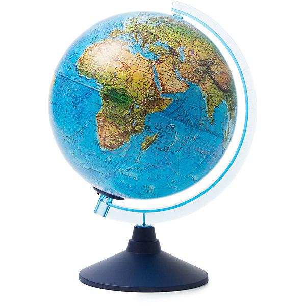 Глобус Globen Земли ландшафтный с подсветкой от батареек 250мм Серия Классик ЕвроГлобусы<br><br>Ширина мм: 260; Глубина мм: 260; Высота мм: 275; Вес г: 900; Цвет: разноцветный; Возраст от месяцев: 72; Возраст до месяцев: 2147483647; Пол: Унисекс; Возраст: Детский; SKU: 8075101;