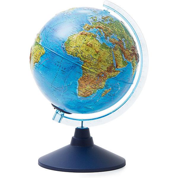 Купить Глобус Земли Globen физико-политический с подсветкой, 210мм, Россия, разноцветный, Унисекс