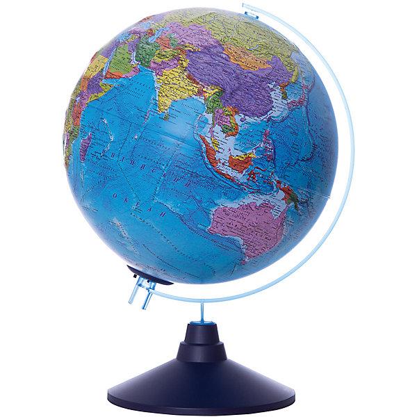 Глобус Земли Globen политический рельефный с подсветкой, 250ммГлобусы<br>Характеристики товара:<br><br>• возраст: от 6 лет;<br>• подсветка: от батареек (нет в комплекте);<br>• из чего сделана игрушка (состав): пластик;<br>• диаметр: 25 см.;<br>• cерия Классик Евро;<br>• размер упаковки: 26х26х27,5 см.;<br>• вес: 900 гр.;<br>• упаковка: цветная картонная коробка.<br><br>Главная часть глобуса его сфера она имеет очень интересное исполнение. <br><br>Физическая карта максимально подробная, с нанесенными названиями материков, океанов с течениями, морей, островов, рек, гор и других географических объектов имеет рельеф в соответствии с ландшафтом местности. <br><br>При включении подсветки физическая карта превращается в политическую - яркими цветами выделяются страны, их границы, названия, значимые города.  Такая особенность позволяет сочетать в одном глобусе два. Это очень важно при разноплановой учебе.<br><br>Для работы глобуса требуются батарейки АА пальчиковые, 2 шт., в комплект не входят.<br><br>Глобус Globen Земли полический рельефный с подсветкой можно купить в нашем интернет-магазине.<br>Ширина мм: 260; Глубина мм: 260; Высота мм: 275; Вес г: 900; Цвет: разноцветный; Возраст от месяцев: 72; Возраст до месяцев: 2147483647; Пол: Унисекс; Возраст: Детский; SKU: 8075113;