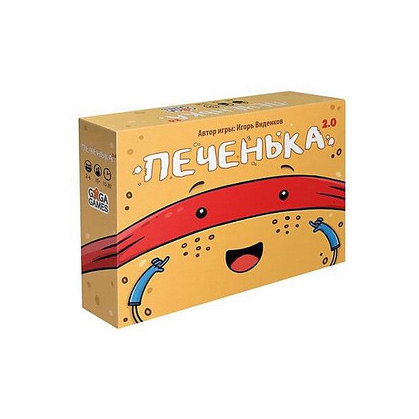 Настольная игра GaGa Games Печенька 2.0Настольные игры для всей семьи<br>Характеристики:<br><br>• возраст: от 10 лет;<br>• материал: картон, пластик;<br>• комплектация: игровые карточки, деньги;<br>• количество игроков: 42-6;<br>• время игры: 45 мин;<br>• вес: 180 гр;<br>• размер: 12,5х4х27,5 см;<br>• бренд: GaGa Games.<br><br>Настольная игра GaGa Games «Печенька 2.0» поможет компании друзей весело провести время. Суть игры The Cookie заключается в том, чтобы верно вычислить жертву и охотника. Перед началом игры участникам раздают по комплекту карт. На стол раскладываются монеты, которые игроки получают, если они отгадывают, кто есть кто. Все игроки получают на руки карту с ролью, которую им предстоит играть. Победит тот игрок, который наберет больше всего монет.<br><br>Настольную  игру  GaGa Games «Печенька 2.0»можно купить в нашем интернет-магазине.<br>Ширина мм: 125; Глубина мм: 40; Высота мм: 275; Вес г: 180; Возраст от месяцев: 120; Возраст до месяцев: 2147483647; Пол: Унисекс; Возраст: Детский; SKU: 8264377;