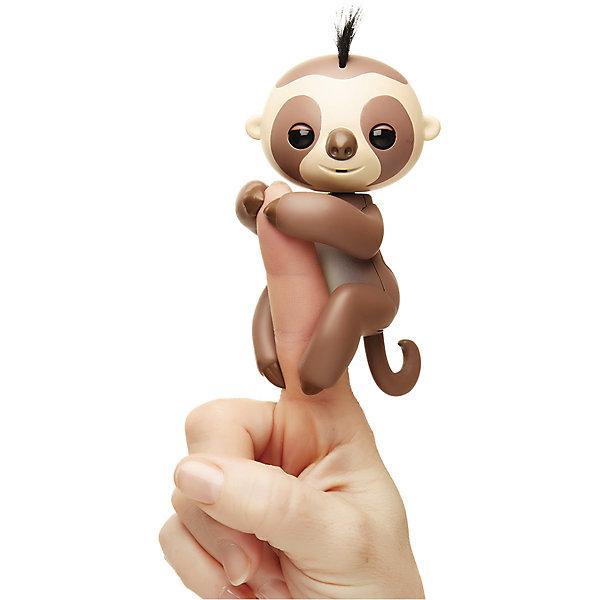 Купить Интерактивный ленивец Fingerlings Кингсли, 12 см () WowWee, 12 см (коричневый) WowWee, Китай, Унисекс