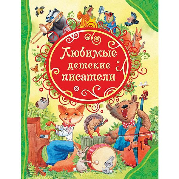 Стихи Любимые детские писателиСтихи<br>Характеристики:<br><br>• возраст: от 3 лет;<br>• материал: бумага;<br>• ISBN: 9785353085928;<br>• количество страниц: 128 (офсет);<br>• иллюстрации: цветные;<br>• вес: 474 гр;<br>• размер: 26,2х20,1х1 см;<br>• издательство: Росмэн.<br><br>Книга «Любимые детские писатели (ВЛС)»   содержит замечательные стихотворения Бориса Заходера, Корнея Чуковского и Агнии Барто. Эти стихи ритмичные, легко запоминающиеся, а самое главное веселые и мудрые; за это их и любят дети. Серия «Все лучшие сказки» - это самая полная коллекция детского чтения, в которую вошли самые известные и любимые, а также редкие и не менее интересные произведения детской литературы.<br><br>Книгу  «Любимые детские писатели (ВЛС)» можно купить в нашем интернет-магазине.<br>Ширина мм: 262; Глубина мм: 201; Высота мм: 10; Вес г: 474; Возраст от месяцев: 36; Возраст до месяцев: 120; Пол: Унисекс; Возраст: Детский; SKU: 8265948;