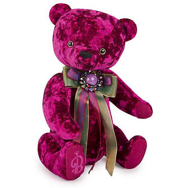 Мягкая игрушка Budi Basa Медведь БернАрт пурпурный, 30 смПлюшевые медведи<br>Характеристики товара:<br><br>• возраст: от 3 лет<br>• высота игрушки: 30 см.<br>• материал: искусственный мех, наполнитель, текстиль;<br>• размер упаковки: 29 х 20 х 17 см.<br>• паковка: картонная коробка открытого типа.<br>• страна бренда: Россия.<br><br>Мягкая игрушка Медведь БернАрт бренда Budi Basa подойдет в качестве подарка не только для ребенка, но и для взрослого. Игрушка выполнена в лучших традициях прошлого века. Взрослые увидя такого мишку, вспомнят о своем детстве. А малыши сразу полюбят своего нового плюшевого медвежонка. <br><br>Мишка изготовлен из искусственного меха, окрашенного в малиновый красный цвет. На лапке у медвежонка вышита стильная буква B. Шею игрушки украшает длинный праздничный бант, украшенный круглой брошью.<br><br>Мягкую  игрушку Budi Basa Медведь БернАрт пурпурный, 30 см можно купить в нашем интернет-магазине.<br>Ширина мм: 415; Глубина мм: 355; Высота мм: 320; Вес г: 500; Цвет: лиловый; Возраст от месяцев: 36; Возраст до месяцев: 168; Пол: Унисекс; Возраст: Детский; SKU: 8268122;