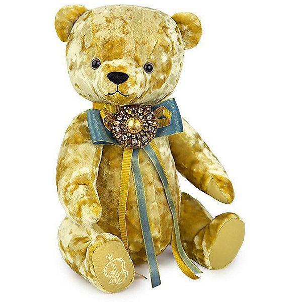 Мягкая игрушка Budi Basa Медведь БернАрт золотой, 30 смПлюшевые медведи<br>Характеристики товара:<br><br>• возраст: от 3 лет<br>• высота игрушки: 30 см.<br>• материал: искусственный мех, наполнитель, текстиль;<br>• размер упаковки: 29 х 20 х 17 см.<br>• паковка: картонная коробка открытого типа.<br>• страна бренда: Россия.<br><br>Мягкая игрушка Медведь БернАрт бренда Budi Basa подойдет в качестве подарка не только для ребенка, но и для взрослого. Игрушка выполнена в лучших традициях прошлого века. Взрослые увидя такого мишку, вспомнят о своем детстве. А малыши сразу полюбят своего нового плюшевого медвежонка. <br><br>Мишка изготовлен из искусственного меха, окрашенного в красивый золотистый цвет. На лапке у медвежонка вышита стильная буква B. Шею игрушки украшает длинный праздничный бант, украшенный круглой брошью.<br><br>Мягкую  игрушку Budi Basa Медведь БернАрт золотой, 30 см можно купить в нашем интернет-магазине.<br>Ширина мм: 415; Глубина мм: 355; Высота мм: 320; Вес г: 500; Цвет: золотой; Возраст от месяцев: 36; Возраст до месяцев: 168; Пол: Унисекс; Возраст: Детский; SKU: 8268124;