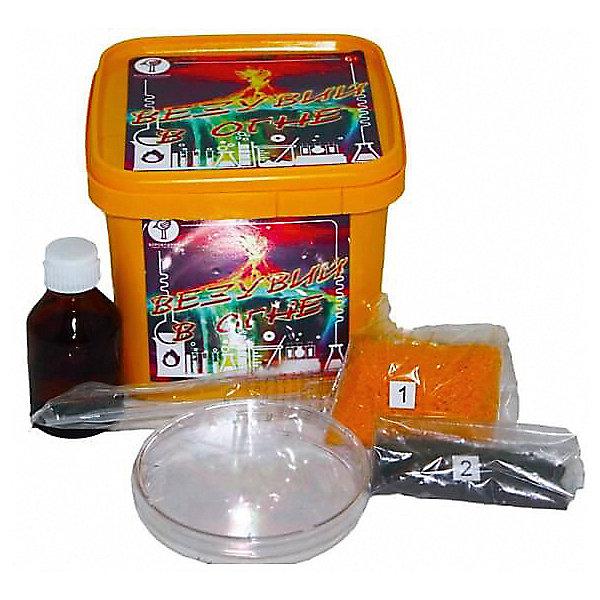 Набор для опытов Воробушкин Везувий в огнеХимия и физика<br>Характеристики товара:<br><br>• возраст: от 6 лет;<br>• комплект: химические материалы, аксессуары, инструкция;<br>• размер упаковки: 12х10,5х10,5 см.;<br>• упаковка: пластиковая коробка;<br>• вес в упаковке: 120 гр.;<br>• бренд, страна: ТМ Воробушкин, Россия.<br><br>Набор для опытов «Везувий в огне» от ТМ Воробушкин - развлечет ребенка и познакомит его с некоторыми физико-химическими явлениями. <br><br>Необыкновенно зрелищный опыт, сопровождающийся эффектным появлением искр и вулканического пепла, не оставит равнодушным ни детей, ни взрослых. Несложный в подготовке и абсолютно безопасный набор может использоваться даже на детских праздниках и внешкольных занятиях. Возможно повторение опыта несколько раз. <br>Набор для опытов - это увлекательное занятие, которое может стать первым шагом ребенка на пути изучения естественных наук, а также это прекрасная возможность полезно провести время со своим ребенком.<br><br>Рекомендуемый возраст: от 6 лет, под наблюдением взрослых. Набор не содержит ядовитых и опасных веществ. <br><br>Набор для опытов «Везувий в огне» от ТМ Воробушкин можно купить в нашем интернет-магазине.<br>Ширина мм: 105; Глубина мм: 120; Высота мм: 105; Вес г: 120; Цвет: разноцветный; Возраст от месяцев: 36; Возраст до месяцев: 2147483647; Пол: Унисекс; Возраст: Детский; SKU: 8271175;