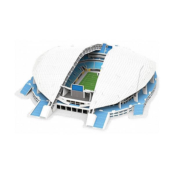 3D пазл IQ-puzzle Стадион Фишт Сочи, 99 элементов3D пазлы<br>Характеристики товара:<br><br>• возраст: от 6 лет;<br>• количество деталей: 99;<br>• размер в собранном виде: 36,5х30,2х8,5 см.;<br>• материал: пенокартон с элементами из металла, полимерных материалов и резины;<br>• упаковка: картонная каробка;<br>• размер упаковки: 30х21х3,3 см.;<br>• вес: 510 гр.;<br>• бренд, страна бренда: IQ PUZZLE, Россия<br><br>3D-пазл Стадиона «Фишт Сочи», состоящий из 99 элементов, придется по душе всем любителям футбола или кто просто увлечен созданием объемных моделей уникальных строений. Детали набора отлично проработаны, идеально и легко собирается без использования дополнительных инструментов, отличаются непревзойденным дизайном и рисунком.<br>Собранный макет можно поставить на видное место, он станет замечательным дополнением для любого интерьера. <br><br>Конструирование пазлов способствует развитию внимания, зрительного восприятия, логического и образного мышления, мелкой моторики рук. Тренирует навык восприятия новой информации, расширяет кругозор и обогащает внутренний мир ребенка.<br><br>3D-пазл Стадиона «Фишт Сочи», 99 деталей, IQ PUZZLE можно купить в нашем интернет-магазине.<br>Ширина мм: 297; Глубина мм: 33; Высота мм: 210; Вес г: 511; Возраст от месяцев: 60; Возраст до месяцев: 2147483647; Пол: Унисекс; Возраст: Детский; SKU: 8271215;
