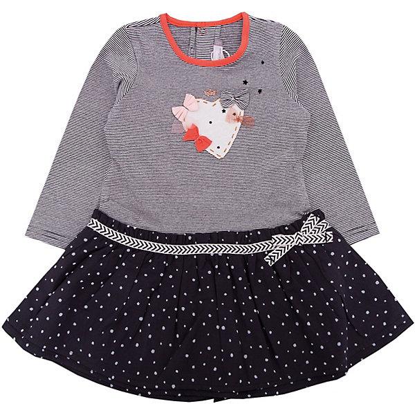 Платье Catimini для девочкиПлатья<br>Характеристики товара:<br><br>• цвет: серый<br>• состав ткани: 95% хлопок, 5% эластан<br>• сезон: демисезон<br>• застежка: кнопки<br>• длинные рукава<br>• страна бренда: Франция<br><br>Серое детское платье с длинным рукавом - отличный вариант одежды для различной погоды. Платье для ребенка от популярного французского бренда Catimini сделано из комбинированного материала, это - дышащий хлопок, который создает комфортные условия для тела. Такое платье для детей отличается оригинальным декором и наличием удобной застежки.<br><br>Платье Catimini (Катимини) для девочки можно купить в нашем интернет-магазине.<br>Ширина мм: 236; Глубина мм: 16; Высота мм: 184; Вес г: 177; Цвет: черный; Возраст от месяцев: 3; Возраст до месяцев: 6; Пол: Женский; Возраст: Детский; Размер: 68,71,98,86,80,74; SKU: 8273956;
