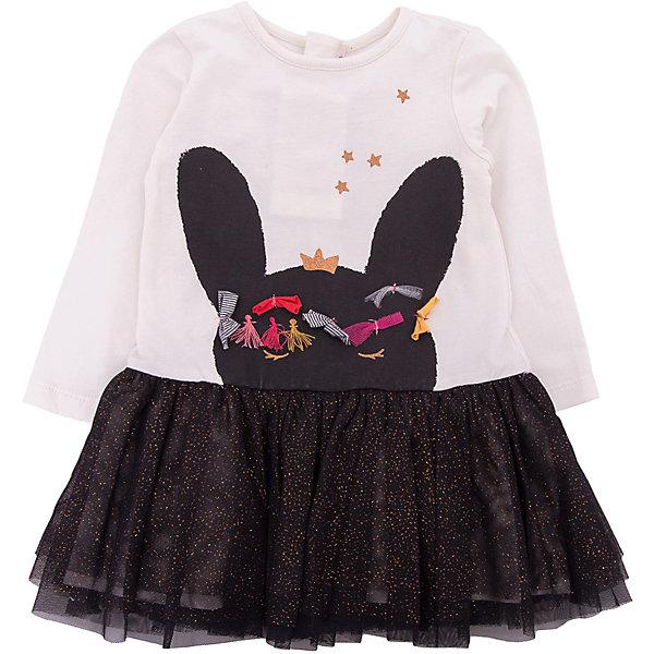Платье Catimini для девочкиПлатья<br>Характеристики товара:<br><br>• цвет: черный<br>• состав ткани: 96% хлопок, 4% эластан / 100% полиэстер<br>• сезон: демисезон<br>• застежка: молния<br>• длинные рукава<br>• страна бренда: Франция<br><br>Оригинальное платье для ребенка от известного бренда Catimini из Франции отличается модным в этом сезоне силуэтом и эффектным декором. Это детское платье от Catimini декорировано аппликацией, которая делает его оригинальной и стильной вещью. Такое платье для детей выполнено из качественной ткани, нарядности ему придает пышный подол. <br><br>Платье Catimini (Катимини) для девочки можно купить в нашем интернет-магазине.<br>Ширина мм: 236; Глубина мм: 16; Высота мм: 184; Вес г: 177; Цвет: разноцветный; Возраст от месяцев: 0; Возраст до месяцев: 6; Пол: Женский; Возраст: Детский; Размер: 71,68,98,86,80,74; SKU: 8273967;