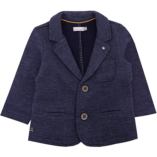 Пиджак Catimini для мальчикаТолстовки, свитера, кардиганы<br>Характеристики товара:<br><br>• цвет: серый<br>• состав ткани: 89% хлопок, 11% полиэстер<br>• сезон: демисезон<br>• застежка: пуговицы<br>• длинные рукава<br>• страна бренда: Франция<br><br>Такой пиджак для детей отличается классическим силуэтом с лацканами и наличием удобной застежки. Стильный пиджак для ребенка от известного французского бренда Catimini выполнен в практичном универсальном цвете. Материал этого детского пиджака - преимущественно дышащий хлопок, который создает комфортные условия для тела. <br><br>Пиджак Catimini (Катимини) для мальчика можно купить в нашем интернет-магазине.<br>Ширина мм: 356; Глубина мм: 10; Высота мм: 245; Вес г: 519; Цвет: синий; Возраст от месяцев: 12; Возраст до месяцев: 15; Пол: Мужской; Возраст: Детский; Размер: 80,74,71,68; SKU: 8273999;