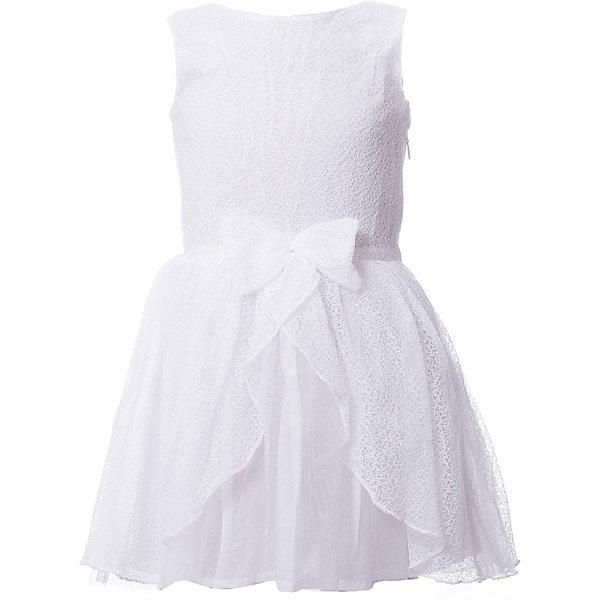 Платье 3 Pommes для девочкиПлатья и сарафаны<br>Характеристики товара:<br><br>• цвет: белый<br>• состав ткани: 100% полиамид / 100% хлопок<br>• сезон: лето<br>• без рукавов<br>• страна бренда: Франция<br><br>Красивое платье для ребенка от известного французского бренда 3 Pommes выполнено в универсальном белом цвете. Материал этого детского платья - в том числе дышащий хлопок, который создает комфортные условия для тела. Такое платье для детей отличается модным в наступающем сезоне силуэтом.<br><br>Платье 3 Pommes (3 Поммис) для девочки можно купить в нашем интернет-магазине.<br>Ширина мм: 236; Глубина мм: 16; Высота мм: 184; Вес г: 177; Цвет: белый; Возраст от месяцев: 36; Возраст до месяцев: 48; Пол: Женский; Возраст: Детский; Размер: 104,140,128,116,110,152; SKU: 8274140;