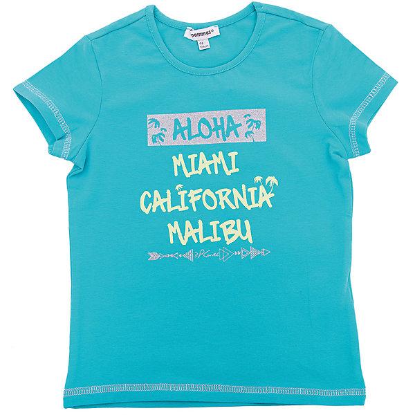 Футболка 3 Pommes для девочкиФутболки, поло и топы<br>Характеристики товара:<br><br>• цвет: голубой<br>• состав ткани: 96% хлопок, 4% эластан<br>• сезон: лето<br>• короткие рукава<br>• страна бренда: Франция<br><br>Модная трикотажная футболка для детей стильно смотрится благодаря оригинальному принту. Эта футболка для ребенка от популярного европейского бренда 3 Pommes - универсальная базовая вещь. Материал этой детской футболки - преимущественно легкий натуральный хлопок, который создает комфортные условия для тела. <br><br>Футболку 3 Pommes (3 Поммис) для девочки можно купить в нашем интернет-магазине.<br>Ширина мм: 199; Глубина мм: 10; Высота мм: 161; Вес г: 151; Цвет: зеленый; Возраст от месяцев: 48; Возраст до месяцев: 60; Пол: Женский; Возраст: Детский; Размер: 110,152,140,128,116,104; SKU: 8274155;