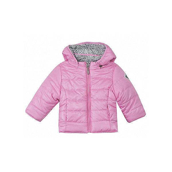 Куртка 3 Pommes для девочкиВерхняя одежда<br>Характеристики товара:<br><br>• цвет: серый, розовый<br>• состав ткани верха: 100% полиэстер<br>• подкладка: 100% полиэстер<br>• сезон: демисезон<br>• температурный режим: от +5 до +15<br>• особенности модели: с капюшоном, двусторонняя<br>• застежка: молния<br>• страна бренда: Франция<br><br>Такая куртка для детей - это две вещи в одной, достаточно просто вывернуть изделие наизнанку. Двусторонняя куртка для ребенка от французского бренда 3 Pommes застегивается на удобную молнию. Детская куртка с капюшоном сшита из качественного материала - он позволяет обеспечить комфорт и тепло. <br><br>Куртку 3 Pommes (3 Поммис) для девочки можно купить в нашем интернет-магазине.<br>Ширина мм: 356; Глубина мм: 10; Высота мм: 245; Вес г: 519; Цвет: розовый; Возраст от месяцев: 6; Возраст до месяцев: 9; Пол: Женский; Возраст: Детский; Размер: 74,80; SKU: 8274538;