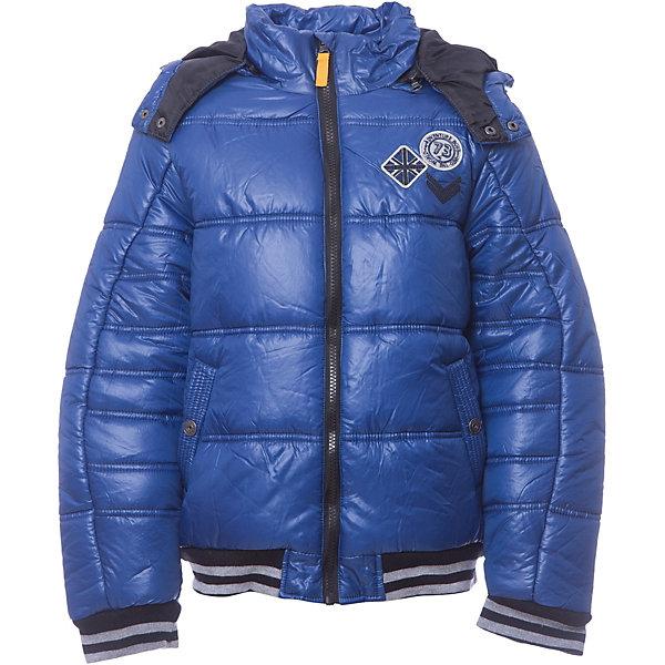 Куртка 3 Pommes для мальчикаВерхняя одежда<br>Характеристики товара:<br><br>• цвет: синий<br>• состав ткани верха: 100% полиэстер<br>• подкладка: 100% полиэстер<br>• сезон: демисезон<br>• температурный режим: от +5 до +15<br>• особенности модели: с капюшоном, двусторонняя<br>• застежка: молния<br>• страна бренда: Франция<br><br>Синяя детская куртка с капюшоном сшита из качественного материала - он позволяет обеспечить комфорт и тепло. Такая куртка для детей - это отличный вариант верхней одежды для переменной погоды межсезонья. Удобная куртка для ребенка от французского бренда 3 Pommes застегивается на молнию, дополнена защитой подбородка и карманами. <br><br>Куртку 3 Pommes (3 Поммис) для мальчика можно купить в нашем интернет-магазине.<br>Ширина мм: 356; Глубина мм: 10; Высота мм: 245; Вес г: 519; Цвет: голубой; Возраст от месяцев: 108; Возраст до месяцев: 120; Пол: Мужской; Возраст: Детский; Размер: 140,152,128,116,104,110; SKU: 8274542;