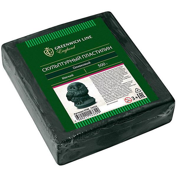 Greenwich Line Пластилин скульптурный, оливковый, мягкий, 500гРисование и лепка<br>Тип: пластилин скульптурный<br>Цвет: оливковый<br>Вес нетто: 500 <br>Плотность: мягкий<br>Упаковка ед. товара: полиэтиленовый рукав<br>Скульптурный пластилин подходит для создания неповторимых предметов интерьера - аппликаций и картин. Такой пластилин отлично держит форму и устойчив к перепадам температуры. Он не имеет запаха, не токсичен. Пластилин не оставляет пятен и не липнет к рукам.<br>Ширина мм: 117; Глубина мм: 107; Высота мм: 28; Вес г: 510; Возраст от месяцев: 36; Возраст до месяцев: 2147483647; Пол: Унисекс; Возраст: Детский; SKU: 8276534;