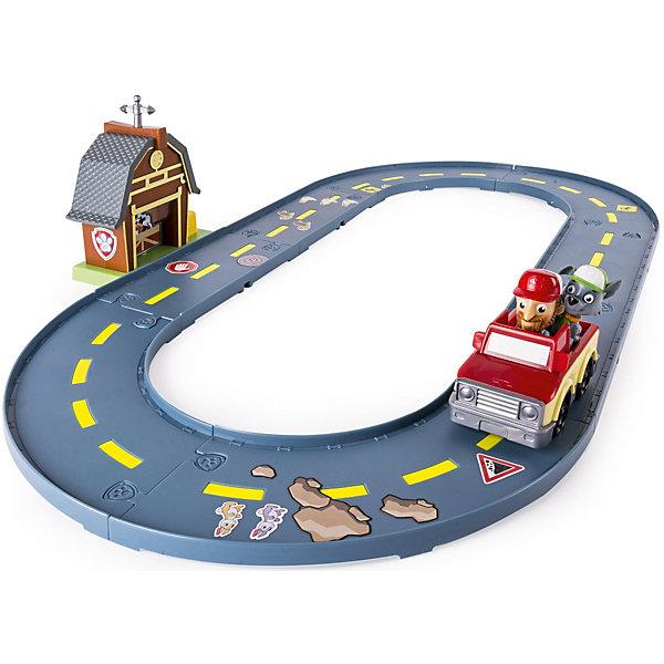 Автотрек Spin Master Щенчий патруль Трек спасателей, РоккиЖелезные дороги<br>Характеристики:<br><br>• возраст: 3+;<br>• материал: пластик;<br>• герой: Рокки;<br>• упаковка: картонная коробка;<br>• габариты упаковки: 25х8х35 см;<br>• вес: 970 г.<br><br>Для игры ребятам нужно собрать трек и установить на нем амбар. Участок дороги можно украсить с помощью наклеек с изображениями валунов, дорожных знаков и животных.<br><br>Фигурка Рокки скопирована с персонажа популярного мультсериала. Щенок хорошо справляется с уборкой мусора и ремонтными работами, потому фермер позвал его на помощь.<br><br>Для игры есть красочный маленький пикап, в кузове которого помещается фигурка Рокки.<br><br>В комплект входят:<br><br>• 8 элементов трека;<br>• амбар;<br>• машинка;<br>• фигурка Рокки;<br>• фигурка фермера;<br>• наклейки.<br><br>Набор совместим с другими треками Roll Patrol.<br><br>Автотрек «Щенячий патруль. Трек спасателей» (Рокки), Spin Master можно приобрести в нашем интернет-магазине.<br>Ширина мм: 360; Глубина мм: 90; Высота мм: 260; Вес г: 970; Цвет: зеленый; Возраст от месяцев: 36; Возраст до месяцев: 2147483647; Пол: Унисекс; Возраст: Детский; SKU: 8290049;