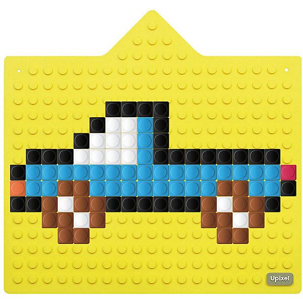 Интерактивная пиксельная панель Upixel «Bright Kiddo», желтыйАксессуары для ранцев и рюкзаков<br>Характеристики:<br><br>• возраст: от 3 лет;<br>• цвет: желтый;<br>• материал: силикон;<br>• размер элементов: 0,1х0,1 см;<br>• комплект: 240 пикселей 13х13 мм, силиконовая панель, две присоски для крепления, цветную инструкция с вариантами изображени;<br>• размер: 0,4х26,7х28,5 см;<br>• поверхность: 19 рядов, 18 линий;<br>• упаковка: прозрачный пластиковый тубус;<br>• вес: 800 гр.;<br>• страна бренда: Китай.<br><br>Интерактивная пиксельная панель Upixel «Bright Kiddo» (Юпиксел Брайц Киддо) может стать незаменимым помощником ребенка во время познания окружающего мира. С ней ребенок легко научится не только различать цвета, формы и размеры, но можно учить алфавит и простейшую арифметику, что поможет более эффективному обучению. <br><br>Очень просто складывать и носить с собой. Пиксели легко крепятся на панели и держится достаточно долго. Рисунок можно закрепить на любой гладкой поверхности с помощью специальных присосок.<br><br>Для  воплощения  своих  фантазий  можно  докупать  пиксельные  фишки  размера  13х13 мм  или  готовые  наборы  картинок  с  фишками аналогичного  размера.<br><br>Интерактивную пиксельную панель Upixel «Bright Kiddo» (Юпиксел Брайц Киддо), желтый можно приобрести в нашем интернет-магазине.<br>Ширина мм: 4; Глубина мм: 267; Высота мм: 285; Вес г: 800; Цвет: желтый; Возраст от месяцев: 36; Возраст до месяцев: 2147483647; Пол: Унисекс; Возраст: Детский; SKU: 8291142;