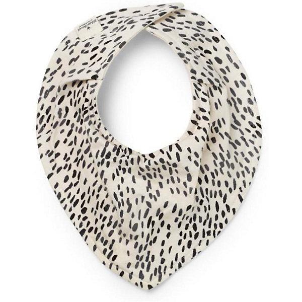 Трикотажный нагрудник Elodie Details Dots of Fauna, белый/черныйНагрудники и салфетки<br>Характеристики:<br><br>• возраст: с рождения;<br>• материал: текстиль;<br>• вес упаковки: 25 гр.;<br>• размер упаковки: 2х19х24 см;<br>• страна бренда: Швеция.<br><br>Тканевый нагрудник Elodie Details защитит одежду крохи от загрязнений во время приема пищи. Нагрудник крепится на шею малыша с помощью мягкой застежки, исключающей натирание нежной детской кожи. Трикотажный материал прекрасно удерживает влагу, не дает каплям смеси растекаться. Сделано из качественных безопасных материалов.<br><br>Трикотажный нагрудник Elodie Details Dots of Fauna, белый/черный можно купить в нашем интернет-магазине.<br>Ширина мм: 2; Глубина мм: 190; Высота мм: 240; Вес г: 25; Цвет: черный/белый; Возраст от месяцев: 0; Возраст до месяцев: 18; Пол: Унисекс; Возраст: Детский; SKU: 8298316;