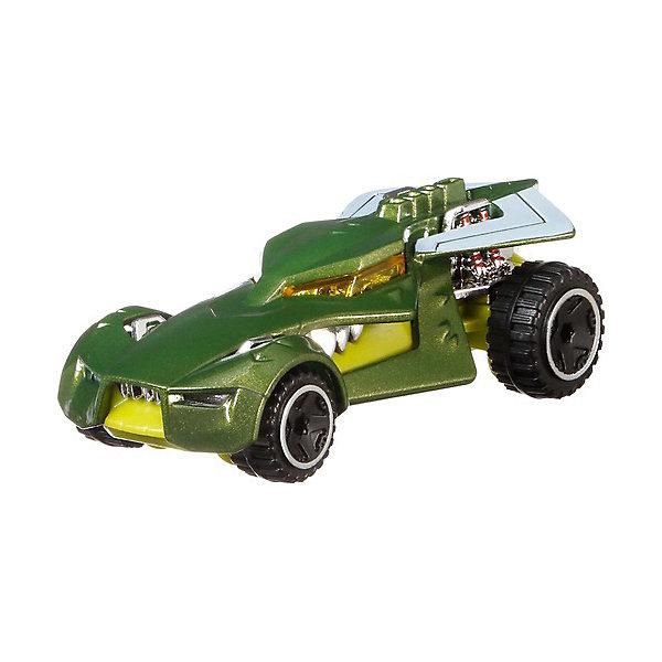 Машинка персонажа DC Hot Wheels Charaster Cars, Убийца КрокМашинки<br>Характеристики:<br><br>• возраст: от 3 лет;<br>• материал: пластик;<br>• масштаб: 1:64;<br>• вес упаковки: 61 гр.;<br>• размер упаковки: 16,7х13,9х4,5 см;<br>• страна бренда: США.<br><br>Машинка Hot Wheels выполнена в виде транспорта персонажа вселенной супергероев DC. Игрушка имеет оригинальный дизайн, отражающий образ героя. Кузов тщательно прорисован, окрашен в яркие насыщенные цвета.<br><br>Колеса машинки крутятся, она может быстро ехать по ровной поверхности. Подойдет для сюжетных игр с другими машинками серии и для коллекционирования. Сделано из качественных безопасных материалов.<br><br>Машинку персонажей DC, Hot Wheels можно купить в нашем интернет-магазине.<br>Ширина мм: 167; Глубина мм: 139; Высота мм: 45; Вес г: 61; Возраст от месяцев: 36; Возраст до месяцев: 6; Пол: Мужской; Возраст: Детский; SKU: 8300805;