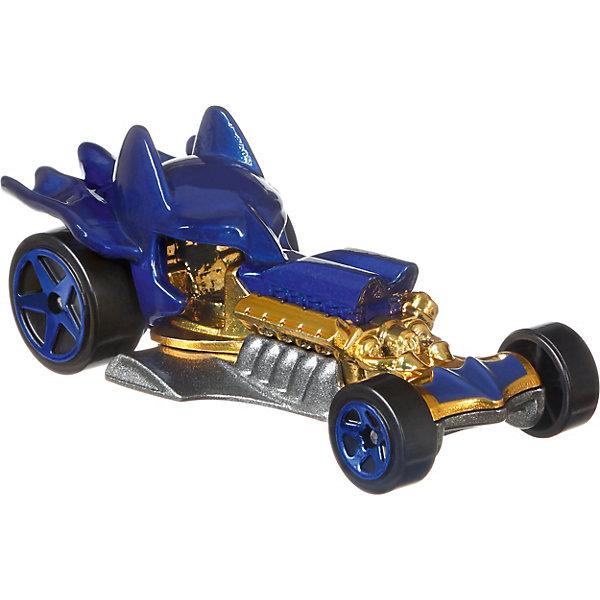 Машинка персонажа DC Hot Wheels Charaster Cars, БэтменМашинки<br>Характеристики:<br><br>• возраст: от 3 лет;<br>• материал: пластик;<br>• масштаб: 1:64;<br>• вес упаковки: 61 гр.;<br>• размер упаковки: 16,7х13,9х4,5 см;<br>• страна бренда: США.<br><br>Машинка Hot Wheels выполнена в виде транспорта персонажа вселенной супергероев DC. Игрушка имеет оригинальный дизайн, отражающий образ героя. Кузов тщательно прорисован, окрашен в яркие насыщенные цвета.<br><br>Колеса машинки крутятся, она может быстро ехать по ровной поверхности. Подойдет для сюжетных игр с другими машинками серии и для коллекционирования. Сделано из качественных безопасных материалов.<br><br>Машинку персонажей DC, Hot Wheels можно купить в нашем интернет-магазине.<br>Ширина мм: 167; Глубина мм: 139; Высота мм: 45; Вес г: 61; Возраст от месяцев: 36; Возраст до месяцев: 6; Пол: Мужской; Возраст: Детский; SKU: 8300823;