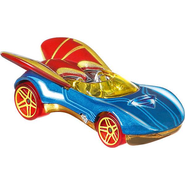 Машинка персонажа DC Hot Wheels Charaster Cars, СупергерлМашинки<br>Характеристики:<br><br>• возраст: от 3 лет;<br>• материал: пластик;<br>• масштаб: 1:64;<br>• вес упаковки: 61 гр.;<br>• размер упаковки: 16,7х13,9х4,5 см;<br>• страна бренда: США.<br><br>Машинка Hot Wheels выполнена в виде транспорта персонажа вселенной супергероев DC. Игрушка имеет оригинальный дизайн, отражающий образ героя. Кузов тщательно прорисован, окрашен в яркие насыщенные цвета.<br><br>Колеса машинки крутятся, она может быстро ехать по ровной поверхности. Подойдет для сюжетных игр с другими машинками серии и для коллекционирования. Сделано из качественных безопасных материалов.<br><br>Машинку персонажей DC, Hot Wheels можно купить в нашем интернет-магазине.<br>Ширина мм: 167; Глубина мм: 139; Высота мм: 45; Вес г: 61; Возраст от месяцев: 36; Возраст до месяцев: 6; Пол: Мужской; Возраст: Детский; SKU: 8300879;