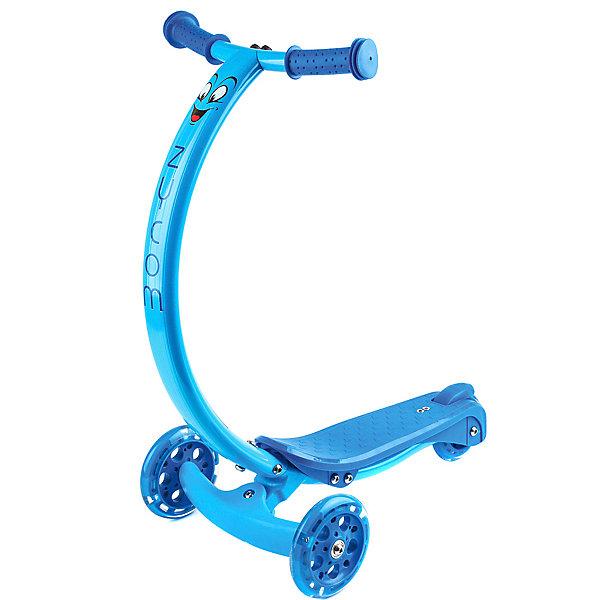 Самокат Zycom «Zipster», синийСамокаты<br>Характеристики:<br><br>• возраст: от 2 лет;<br>• цвет: синий;<br>• максимальная нагрузка: 50 кг;<br>• изогнутая ручка;<br>• материал колес: полиуретан;<br>• колеса: все светодиодные;<br>• диаметр колес: перднее 120мм, заднее 90 мм;<br>• тормоз: ножной;<br>• класс подшипника: FBEC 5;<br>• высота ручки от пола: 61 см;<br>• размеры самоката: 61х31х50 см;<br>• вес самоката: 2,1 кг;<br>• размеры упаковки: 54х16х36 см;<br>• вес упаковки: 2,3 кг;<br>• страна бренда: Австралия.<br><br>Самокат Zycom «Zipster» (Зайком Зипстер) имеет изогнутую ручку, что позволяет ребенку кататься с ровной спиной. Также благодаря изогнутой форме коленки не будут задевать руль при катании.<br><br>Самокат поворачивает за счет наклонов, это учит балансировать и развивает чувство равновесия у детей, а также в целях безопасности не дает сделать слишком резкий поворот.<br>Благодаря тому, что ручка сделана из алюминия специальным образом, то самокат имеет малый вес при высокой надежности конструкции.<br><br>Компактный и четкий задний тормоз, позволяющий регулировать скорость катания. Светящиеся колеса сделаны из долговечного материала PU 85A с особо прочными пластиковыми дисками и подшипником ABEC-5, отвечающим за плавное качение. <br><br>Самокат Zycom «Zipster» (Зайком Зипстер), синий можно приобрести в нашем интернет-магазине.<br>Ширина мм: 550; Глубина мм: 160; Высота мм: 330; Вес г: 2300; Цвет: синий; Возраст от месяцев: 24; Возраст до месяцев: 48; Пол: Мужской; Возраст: Детский; SKU: 8302683;