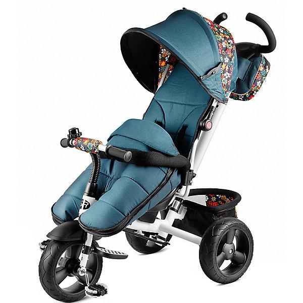 Трехколесный велосипед Small Rider «Discovery CR», зеленый цветочекВелосипеды и аксессуары<br>Характеристики:<br><br>• возраст: от 1 года;<br>• тип: трехколесный велосипед;<br>• цвет: зеленый цветочек;<br>• максимальная нагрузка: 25 кг;<br>• диаметр колес: 10 дюймов;<br>• родительская ручка;<br>• ремни безопасности;<br>• козырек;<br>• регулировка высоты руля;<br>• материал колес: резина;<br>• аксессуары: накидка-чехол, дождевик;<br>• размер упаковки: 70х43х36 см;<br>• вес упаковки: 12 кг;<br>• страна бренда: Российская Федерация.<br><br>Трехколесный велосипед Small Rider «Discovery CR» (Смолл Райдэр Дискавери СиАр) полностью готов к холодам и непогоде. Две молнии по бокам накидки-чехла позволяют легко и удобно сажать внутрь ребенка, а также регулировать уровень тепла. В комплекте велосипеда предусмотрен дождевик, который усиливает защиту от непогоды.<br><br>Благодаря большим колесам 25 см в высоту и 7,5 см в толщину велосипед обладает высокой степенью проходимости. Колеса сделаны из прочной резины с бескамерными покрышками.<br>Сиденье велосипеда можно повернуть в положение «лицом к дороге», либо «лицом к маме». Спереди-сверху есть окошко на липучке, чтобы ребенку поступал в большем количестве свежий воздух<br><br>Велосипед имеет глубокий капюшон-капр и мягкое, длинное, высокое сиденье, что позволяет комфортно передвигаться длительное время. Велосипед имеет на задних колесах стопперы, благодаря которым велосипед можно зафиксировать велосипед от ската. В комплекте с велосипедом предусмотрены два вида ремней безопасности, которые можно использовать одновременно.<br><br>Вездеходный велосипед Small Rider «Discovery CR» (Смолл Райдэр Дискавери СиАр), зеленый цветочек можно купить в нашем интернет-магазине.<br>Ширина мм: 700; Глубина мм: 430; Высота мм: 360; Вес г: 12000; Цвет: разноцветный; Возраст от месяцев: 12; Возраст до месяцев: 48; Пол: Унисекс; Возраст: Детский; SKU: 8302707;
