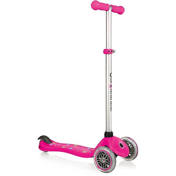 Купить Трехколесный самокат Globber «Primo Starlight», розовый, -, Китай, розовый/розовый, Женский