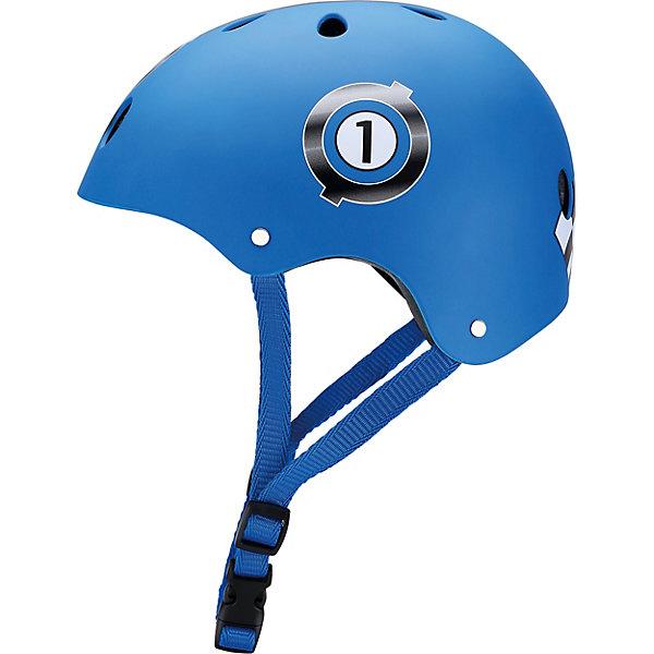 Шлем Globber «Printed Junior», синийЗащитные аксессуары<br>Характеристики:  • цвет: синий; • размер: XS (51-54 см); • регулируемая застежка; • безопасная вставка внутри шлема; • 11 вентиляционных отверстий; • подходит как для мальчика, так и для девочки; • вес упаковки: 500 гр.; • размеры упаковки: 24х21х14,5 см; • страна бренда: Франция.  Детские шлемы Globber (Глоббер) созданы для максимальной защиты вашего малыша во время прогулок на самокате. Доступны в 10 расцветках, также доступны 6 тематических расцветок, которые сочетаются с самокатами PRIMO FANTASY (Прайм Фентази).  Оборудованы регулируемыми кольцами и ремнями, чтобы быстро и легко затянуть шлем для удобного и надёжного прилегания шлема к голове. Все модели с глубоко проложенными, вшитыми вставками в оболочке шлема для максимального комфорта и безопасности. 11 вентиляционных отверстий, распределённых по всему шлему, гарантируют наилучшее проветривание головы во время катания.   Шлем Globber «Printed Junior» (Глоббер Принтед Джуниор) можно купить в нашем интернет-магазине.<br>Ширина мм: 240; Глубина мм: 210; Высота мм: 145; Вес г: 500; Цвет: синий; Возраст от месяцев: 18; Возраст до месяцев: 2147483647; Пол: Мужской; Возраст: Детский; SKU: 8304736;