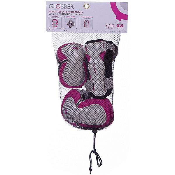 Купить Комплект защиты Globber «Junior Protective Set», розовый, -, Китай, розовый/розовый, Женский