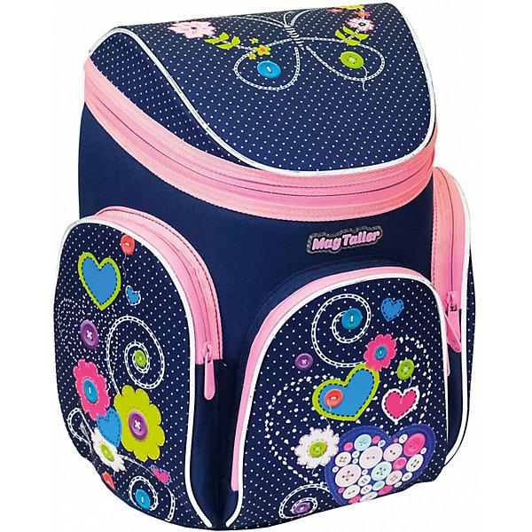 Ранец Boxi, HeartsРанцы<br>Характеристики:<br><br>• школьный рюкзак для учениц начальных классов;<br>• корпус усилен пластиковым каркасом;<br>• эргономичная спинка с мягкими подушечками;<br>• вентилируемая спинка;<br>• регулируемые лямки;<br>• клапан на молнии;<br>• светоотражающие элементы;<br>• материал: 600D полиэстер, дно из PVC, пластиковый каркас;    <br>• размер ранца: 38х29х19 см;<br>• вес: 850 г.<br><br>Усиленный каркас школьного ранца продлевает жизнь изделию, книжки и папки надежно сохранены и защищены от влаги и сырости. Ранец на одно отделение с подвижной перегородкой и навесным кармашком на молнии, имеется отделение для расписания уроков. Дополнительные карманы: передний карман с органайзером и два боковых кармана на молнии. Светоотражающие элементы спереди, сбоку, на плечевых лямках.<br><br>Ранец Boxi, Hearts можно купить в нашем интернет-магазине.<br>Ширина мм: 290; Глубина мм: 190; Высота мм: 380; Вес г: 850; Цвет: фиолетовый; Возраст от месяцев: 72; Возраст до месяцев: 2147483647; Пол: Женский; Возраст: Детский; SKU: 8316016;