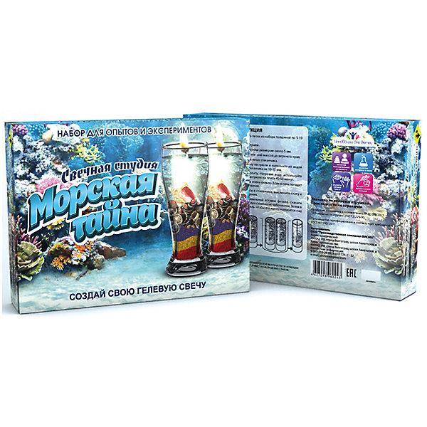 Набор для творчества Висма Фикси-свечи Морская тайнаНаборы для создания мыла и свечей<br>Характеристики товара:<br><br>• возраст: от 10 лет;<br>• материал: пластик, гель;<br>• размер упаковки: 22х13,5х8 см;<br>• вес упаковки: 550 гр.<br><br>Набор для творчества Висма Фикси-свечи «Морская тайна» позволит детям самостоятельно создать 2 красивые гелевые свечи при помощи разноцветного песка и морских ракушек. Процесс надолго увлечет ребенка, позволит ему понаблюдать за происходящими реакциями, а готовые свечи дополнят интерьер детской комнаты.<br><br>Набор для творчества Висма Фикси-свечи «Морская тайна» можно приобрести в нашем интернет-магазине.<br>Ширина мм: 135; Глубина мм: 80; Высота мм: 220; Вес г: 55; Цвет: разноцветный; Возраст от месяцев: 120; Возраст до месяцев: 2147483647; Пол: Унисекс; Возраст: Детский; SKU: 8317175;