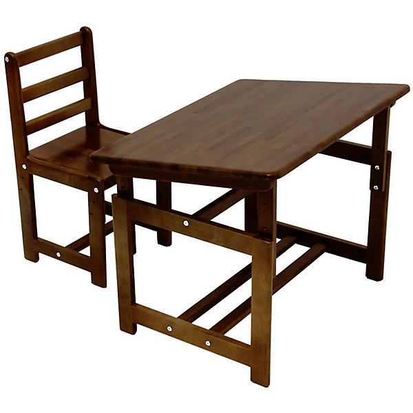 Купить Комплект детской мебели Фея Растем вместе , табачный дуб, ФЕЯ, Россия, коричневый, Унисекс