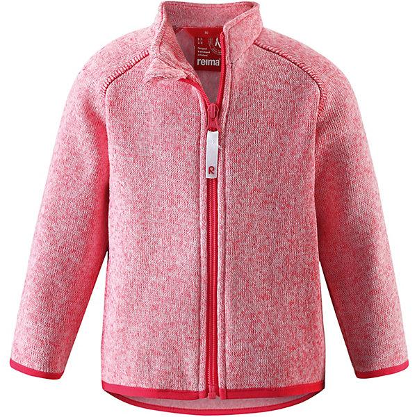 Куртка флисовая  Reima для девочкиФлис и термобелье<br>Куртка флисовая  Reima для девочки<br>НОВОЕ ПОСТУПЛЕНИЕ! Перед вами идеальный вариант для любителей кофт – уютная вязка и все преимущества флиса! Эта кофта для малышей сверху имеет вязаную структуру, а с изнаночной стороны – пушистую флисовую поверхность. Кофта сшита из теплого и дышащего материала – зимой она будет самой удобной одеждой промежуточного слоя, а в теплое время года послужит отличной верхней одеждой. Выбери свою любимую из трех восхитительных мягких меланжевых расцветок!<br>Состав:<br>100% Полиэстер<br>Ширина мм: 356; Глубина мм: 10; Высота мм: 245; Вес г: 519; Цвет: розовый; Возраст от месяцев: 12; Возраст до месяцев: 15; Пол: Женский; Возраст: Детский; Размер: 80,98,92,86; SKU: 8329482;