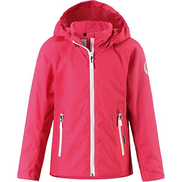 Куртка  Reima для девочкиВерхняя одежда<br>Куртка  Reima для девочки<br>  Что удерживает ветер снаружи, но при этом дышит? Ждет ли тебя увлекательный день в школе или веселое велосипедное путешествие по лесу – эта удлиненная куртка для подростков из материала softshell станет нарядом номер один для весенней и осенней поры! Водо- и ветронепроницаемый материал хорошо дышит и имеет грязеотталкивающую поверхность – отличная комбинация для холодных дней и часто меняющейся погоды. Безопасный съемный капюшон обеспечивает дополнительную защиту в дождливую погоду и легко отстегивается, если случайно за что-нибудь зацепится. Телефон и ключи от дома останутся в целости и сохранности благодаря удобным карманам на молнии, а сенсор ReimaGO® будет надежно спрятан в кармане со специальным разъемом. То, что нужно всем активным любителям приключений!<br>Состав:<br>96% Полиэстер, 4% эластан, полиуретановое покрытие<br>Ширина мм: 356; Глубина мм: 10; Высота мм: 245; Вес г: 519; Цвет: розовый; Возраст от месяцев: 132; Возраст до месяцев: 144; Пол: Женский; Возраст: Детский; Размер: 152,140,134,128,146,164,158; SKU: 8329667;