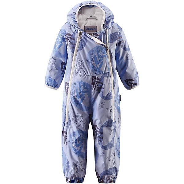Комбинезон  LassieВерхняя одежда<br>Комбинезон  Lassie <br>Теплый стеганый комбинезон для новорожденных легко превращается в конверт. Благодаря легкому утеплению комбинезон идеально подходит для ранней весны и поздней осени. Комбинезон изготовлен из водоотталкивающего, ветронепроницаемого и дышащего материала — он обеспечит вашей крохе максимальный комфорт. Неснимающийся капюшон и красивая гладкая подкладка из хлопкового джерси на легком утеплителе. Очень практичные подворачивающиеся рукава с эластичными манжетами. Съемные штрипки и эластичные концы брючин надежно защищают ножки! Две длинные молнии спереди комбинезона облегчают надевание. Желаем вашей крохе сладких снов наяву и веселых прогулок!<br>Состав:<br>100% Полиэстер, полиуретановое покрытие<br>Ширина мм: 356; Глубина мм: 10; Высота мм: 245; Вес г: 519; Цвет: синий; Возраст от месяцев: 3; Возраст до месяцев: 6; Пол: Унисекс; Возраст: Детский; Размер: 68,62,74; SKU: 8329749;