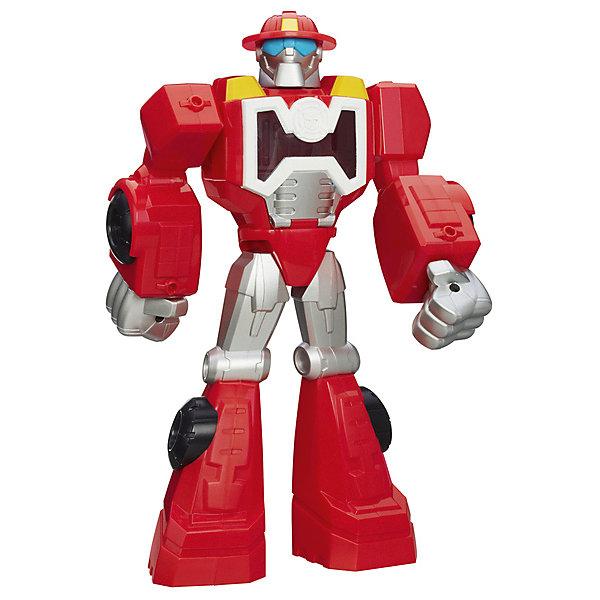 Робот-трансформер Hasbro Transformers Трансформеры-спасатели ХитвейвТрансформеры-игрушки<br>Характеристики товара:<br><br>• возраст: от 3 лет;<br>• материал: пластик;<br>• в комплекте: фигурка;<br>• высота фигурки: 27 см;<br>• размер упаковки: 30,5х16,5х7,6 см;<br>• вес упаковки: 299 гр.<br><br>Робот-трансформер Hasbro Transformers «Трансформеры-спасатели Хитвейв» представляет собой героя известных мультсериалов про роботов-трансформеров. У фигурки имеются подвижные детали, а также есть секретный отсек для хранения мини-фигурок (продаются отдельно). С роботом можно придумать увлекательные сюжеты для игры или устроить захватывающие сражения. Изготовлена фигурка из качественного безопасного пластика.<br><br>Робота-трансформера Hasbro Transformers «Трансформеры-спасатели Хитвейв» можно приобрести в нашем интернет-магазине.<br>Ширина мм: 67; Глубина мм: 178; Высота мм: 310; Вес г: 570; Возраст от месяцев: 36; Возраст до месяцев: 2147483647; Пол: Мужской; Возраст: Детский; SKU: 8331437;
