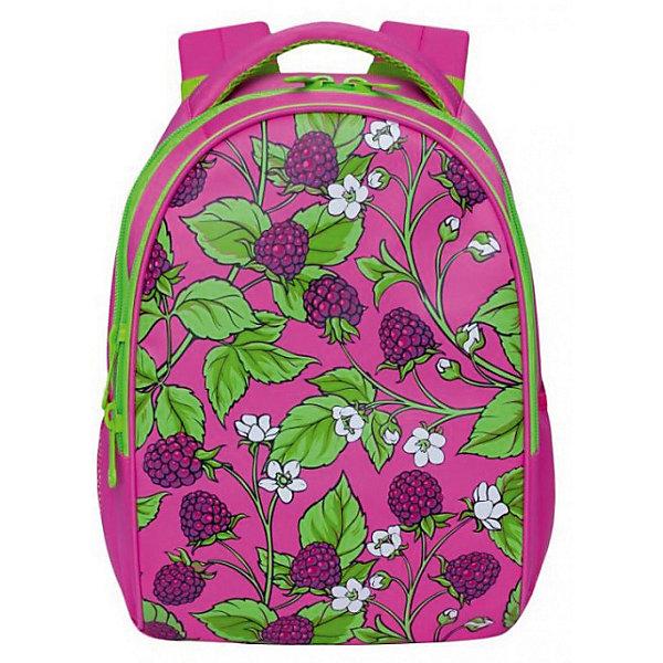 RD-832-2 Рюкзак /1 розовыйРюкзаки<br>Характеристики:<br><br>• молодежный рюкзак;<br>• укрепленная спинка;<br>• дополнительная ручка-петля;<br>• укрепленные лямки;<br>• уплотненное дно;<br>• тип застежки: петелька с карабином;<br>• вмещает формат А4;<br>• материал: полиэстер;<br>• размер рюкзака: 38х29х13 см;<br>• вес: 350 г.<br><br>Молодежный рюкзак имеет одно отделение, карман на молнии на передней стенке, 2 боковых кармана, задний карман на молнии, внутренний карман для электронных устройств, внутренний карман на молнии. Рюкзак представлен в зеленом цвете, декорирован пышной двухслойной бахромой. <br><br>Grizzly Рюкзак розовый можно купить в нашем интернет-магазине.<br>Ширина мм: 270; Глубина мм: 40; Высота мм: 370; Вес г: 550; Цвет: розовый/розовый; Возраст от месяцев: 144; Возраст до месяцев: 2147483647; Пол: Женский; Возраст: Детский; SKU: 8333782;