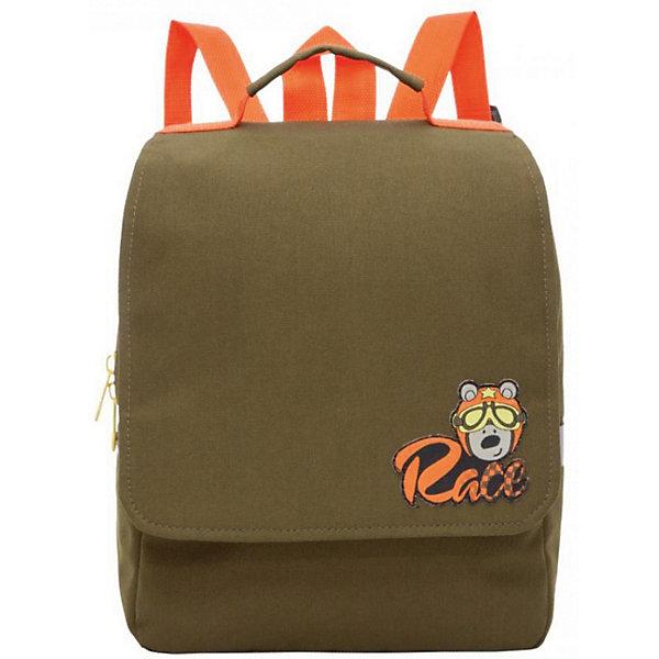 Рюкзак дошкольный Grizzly, хакиДетские рюкзаки<br>Характеристики:<br><br>• возраст от: 6 лет;<br>• рюкзак малый;<br>• укрепленная спинка;<br>• 2 дополнительные ручки-петли;<br>• укрепленные лямки;<br>• уплотненное дно;<br>• верхний клапан;<br>• тип застежки: молния;<br>• светоотражающие элементы;<br>• материал: полиэстер;<br>• размер рюкзака: 25х30х11 см;<br>• вес: 300 г.<br><br>Детский рюкзачок имеет одно отделение, дополнительный карман на молнии на передней стенке. Рюкзак оформлен в сочетании двух цветов, синего и красного. Декором выступает изображение щенка с ошейником на защитном клапане рюкзака. <br><br>Grizzly рюкзак детский зеленый можно купить в нашем интернет-магазине.<br>Ширина мм: 250; Глубина мм: 40; Высота мм: 300; Вес г: 300; Цвет: хаки; Возраст от месяцев: 36; Возраст до месяцев: 84; Пол: Мужской; Возраст: Детский; SKU: 8333966;