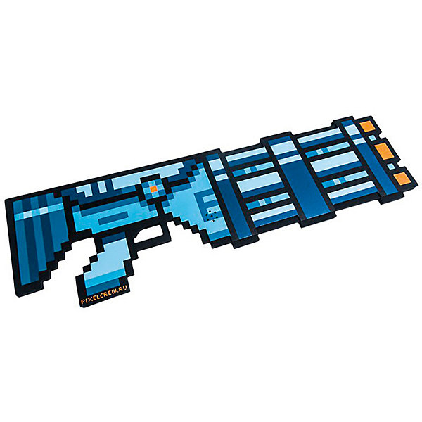 Миниган 8Бит Pixel Crew синий, 61 смИгрушечные пистолеты и бластеры<br>Характеристики:<br><br>• возраст: от 3 лет;<br>• материал: полимер, полипропилен, ЭВА-пена;<br>• длина изделия: 61 см;<br>• свет, звук: да;<br>• вес упаковки: 500 гр.;<br>• размер упаковки: 61х2,5х18 см;<br>• страна бренда: Россия.<br><br>Миниган 8Бит Pixel Crew выполнен в ретро стиле компьютерной стрелялки. Оружие имеет пиксельный дизайн и выглядит так, будто только что перенеслось из виртуального мира в реальный. Во время игры издаются звуки стрельбы, на конце пушки мигает красный огонек. Игрушка подойдет как для игр, так и украсит собой интерьер и станет отличным подарком поклоннику видеоигр.<br><br>Миниган 8Бит Pixel Crew синий 61 см можно купить в нашем интернет-магазине.<br>Ширина мм: 610; Глубина мм: 25; Высота мм: 181; Вес г: 500; Цвет: синий; Возраст от месяцев: 36; Возраст до месяцев: 180; Пол: Мужской; Возраст: Детский; SKU: 8335032;