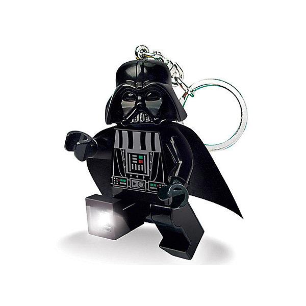 LGL-KE7 Брелок-фонарик для ключей LEGO Star Wars - Darth Vader (Дарт Вейдер)Аксессуары для ранцев и рюкзаков<br>Брелок-фонарик станет прекрасным подарком для поклонников фантастической серии. Моделька выполнена в лучших традициях LEGO и поражает своей проработанностью. Удобная кнопка включения и выключения позволяет играть с брелоком и без опасения тратить заряд. Брелок-фонарик подойдет для ключей любого размера. Порадуйте себя и своих друзей эффектным и привлекательным девайсом как можно скорее! <br>Характеристики:<br>Комплектация: 2 светодиодных лампочки и 2 батарейки CR2025 входят в комплект<br>Высота минифигурки: 7,4 см<br>Материал: пластик, металл.<br>Размер индивидуальной упаковки: 9,7?4,1?15,0 см (ДхШхВ)<br>Вес: 0,063 кг<br>Изготовитель: Китай.<br>Рекомендуемый возраст: от 5 лет.<br>Ширина мм: 97; Глубина мм: 41; Высота мм: 150; Вес г: 63; Возраст от месяцев: 72; Возраст до месяцев: 2147483647; Пол: Мужской; Возраст: Детский; SKU: 8335804;