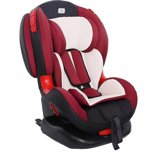 Автокресло Smart Travel Premier Isofix, 9-25 кг, marsalaАвтокресла с креплением Isofix<br>Характеристики автокресла:<br><br>• возраст: от 1 года до 7 лет;<br>• вес ребенка:  9-25 кг;<br>• группа: 1-2;<br>• способ крепления: Isofix;<br>• способ установки: по ходу движения;<br>• 5-ти точечные ремни безопасности;<br>• регулировка наклона спинки в 6 позициях;<br>• материал: полиэстер, пластик;<br>• размер упаковки: 98х46х49 см;<br>• вес упаковки: 7,7 кг.<br><br>Автокресло Smart Travel Premier Isofix marsala предназначено для перевозки в машине ребенка от 1 года до 7 лет. Устанавливается кресло при помощи надежных креплений Isofix, которые не дают креслу сдвигаться вперед при резких толчках. Широкие плотные боковины и ударопрочные демпферы защитят ребенка от травм во время столкновения. <br><br>Для маленького пассажира в кресле есть мягкий вкладыш. В возрасте до 4 лет спинку кресла можно регулировать по наклону в 6 положениях, что позволит крохе отдохнуть во время поездки. В автокресле ребенок фиксируется внутренним ремнем, который регулируется по мере роста. <br><br>Автокресло Smart Travel Premier Isofix marsala можно приобрести в нашем интернет-магазине.<br>Ширина мм: 980; Глубина мм: 460; Высота мм: 490; Вес г: 7700; Цвет: красный; Возраст от месяцев: 12; Возраст до месяцев: 84; Пол: Унисекс; Возраст: Детский; SKU: 8353067;
