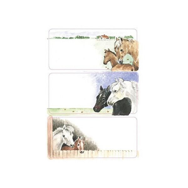 Набор наклеек для тетрадей Herma Vario ЛошадкиТетради<br>Характеристики:<br><br>• возраст: от 3 лет<br>• в наборе: 3 листа 9 наклеек<br>• размер: 7,6х3,5 см.<br>• материал: бумага<br><br>Наклейки для подписи тетрадей Herma «Vario» с изображением лошадок создадут радостное настроение и придадут тетрадям неповторимый дизайн.<br><br>Яркие картинки, украшающие обложки тетрадей, будут предметом гордости маленького ученика. Наклейки станут палочкой-выручалочкой, если тетрадь подписана неверно.<br><br>В тетрадях, украшенных этими наклейками, приятно будет делать уроки, а любой скучный дневник превратиться в яркую копилку хороших оценок.<br><br>Набор наклеек для тетрадей Herma Vario Лошадки можно купить в нашем интернет-магазине.<br>Ширина мм: 160; Глубина мм: 90; Высота мм: 2; Вес г: 10; Цвет: разноцветный; Возраст от месяцев: 36; Возраст до месяцев: 2147483647; Пол: Унисекс; Возраст: Детский; SKU: 8362464;