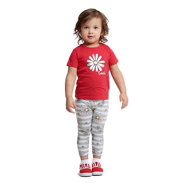 Футболка PlayToday для девочкиФутболки, поло и топы<br>Характеристики товара:<br><br>• цвет: красный;<br>• состав ткани: 95% хлопок, 5% эластан;<br>• сезон: лето;<br>• застежка: кнопки; <br>• короткие рукава; <br>• страна бренда: Германия.<br><br>Такая детская футболка создана специально для малышей: она легко надевается благодаря кнопкам на плече. Эта футболка для ребенка выполнена из легкого хлопкового трикотажа, гипоаллергенного, позволяющего коже дышать. Эта футболка для детей оригинально оформлена принтом, на горловине - мягкая трикотажная резинка. Детская одежда от бренда PlayToday - это стильные и доступные вещи. <br><br>Футболку PlayToday (ПлэйТудэй) для девочки можно купить в нашем интернет-магазине.<br>Ширина мм: 199; Глубина мм: 10; Высота мм: 161; Вес г: 151; Цвет: красный; Возраст от месяцев: 6; Возраст до месяцев: 9; Пол: Женский; Возраст: Детский; Размер: 74,86,80,98,92; SKU: 8435888;