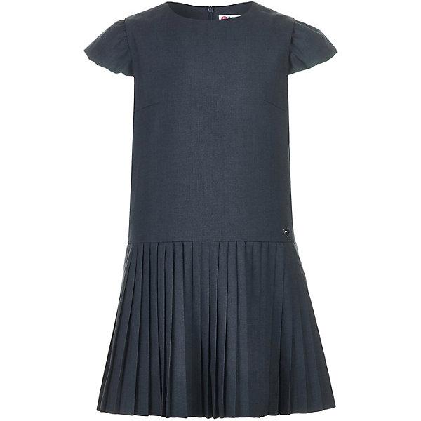 Платье Button Blue для девочкиПлатья и сарафаны<br>Характеристики товара:<br><br>• цвет: серый;<br>• состав: 80% полиэстер, 20% вискоза;<br>• подкладка: 55% вискоза, 45% полиэстер;<br>• сезон: круглый год;<br>• застёжка: молния на спинке;<br>• особенности модели: школьное;<br>• платье с коротким рукавом;<br>• плиссированная юбка;<br>• страна бренда: Россия.<br><br>Школьное платье серого цвета поможет создать элегантный строгий образ. Платье с коротким рукавом выполнено из качественных материалов, модный крой и плиссированная юбка добавляют модели индивидуальности.<br><br>Платье Button Blue (Баттон Блю) можно купить в нашем интернет-магазине.<br>Ширина мм: 236; Глубина мм: 16; Высота мм: 184; Вес г: 346; Цвет: серый; Возраст от месяцев: 84; Возраст до месяцев: 96; Пол: Женский; Возраст: Детский; Размер: 122,158,128,140,146,164,170,134,152; SKU: 8581833;