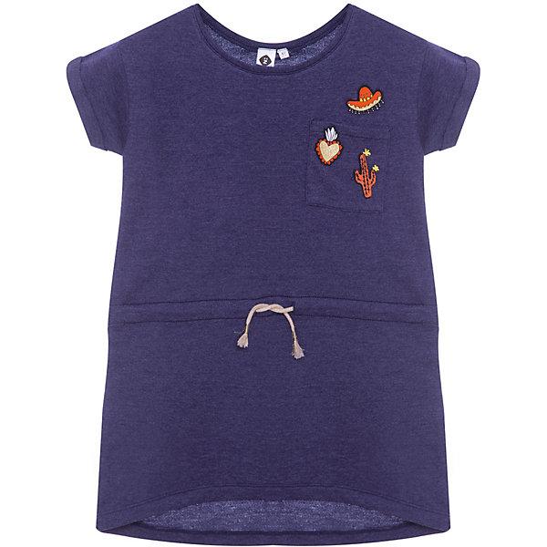 Платье Z Generation для девочкиПлатья и сарафаны<br>Характеристики товара:<br><br>• цвет: синий;<br>• состав ткани: 50% хлопок, 50% полиэстер;<br>• сезон: лето;<br>• короткие рукава;<br>• страна бренда: Франция.<br><br>Платье для ребенка снабжено шнурком в талии - с помощью него можно изменять силуэт модели. Это платье для детей от бренда Z Generation отличается продуманным дизайном от французских специалистов и высоким качеством проработки мельчайших деталей. Удобное детское платье сделано из качественной ткани, легкой и приятной на ощупь. В коллекциях одежды и обуви для детей от известного бренда Z Generation только качественные вещи, которые помогут ребенку приучаться одеваться модно и со вкусом. <br><br>Платье Z Generation (Зет Дженерейшен) для девочки можно купить в нашем интернет-магазине.<br>Ширина мм: 236; Глубина мм: 16; Высота мм: 184; Вес г: 102; Цвет: голубой; Возраст от месяцев: 24; Возраст до месяцев: 36; Пол: Женский; Возраст: Детский; Размер: 98,128,152/158,104,116,140,86,110; SKU: 8597218;