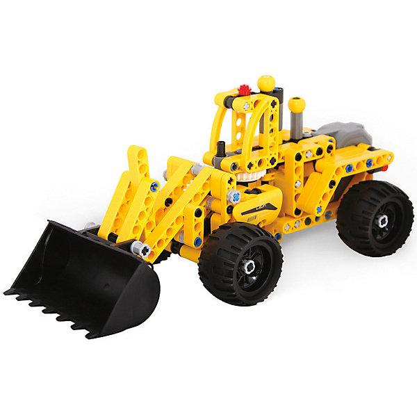 Конструктор инерционный Evoplay Wheel Loader, 213 деталейПластмассовые конструкторы<br>Характеристики товара:<br><br>• возраст: от 6 лет;<br>• материал: пластик;<br>• в комплекте: 213 деталей, инструмент для разделения деталей, инструкция;<br>• размер упаковки: 35х24х6 см;<br>• вес упаковки: 750 гр.<br><br>Конструктор Evoplay Wheel Loader — увлекательный конструктор, из деталей которого собирается машинка, оснащенная инерционным механизмом. Машинка подойдет как для игры дома, так и на улице.<br><br>Все детали прочно соединяются между собой. Для того, чтобы машинка могла ездить, ребенку придется правильно собрать между собой все детали.<br><br>Сборка конструктора развивает у детей логическое мышление, сообразительность, усидчивость, внимательность. Все элементы конструктора выполнены из безопасного нетоксичного пластика. <br><br>Конструктор Evoplay Wheel Loader можно приобрести в нашем интернет-магазине.<br>Ширина мм: 350; Глубина мм: 60; Высота мм: 240; Вес г: 750; Цвет: разноцветный; Возраст от месяцев: 72; Возраст до месяцев: 2147483647; Пол: Мужской; Возраст: Детский; SKU: 8609280;