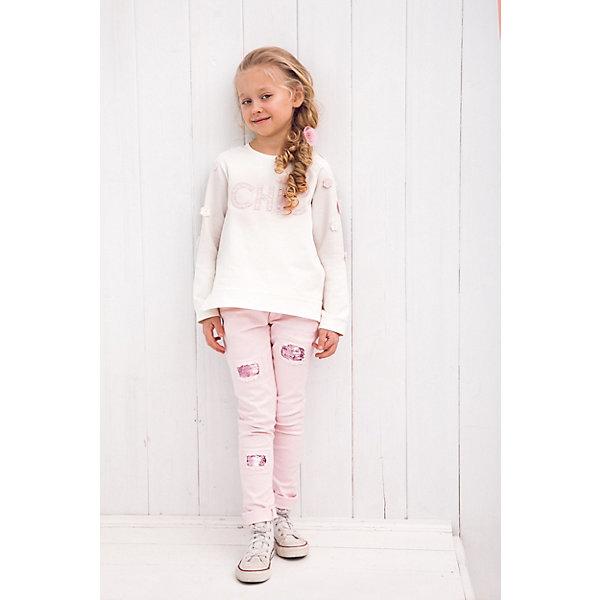 Джинсы Choupette для девочкиДжинсы<br>Джинсы Choupette для девочки<br>Стильные, выполненные в современном молодежном дизайне голубые джинсы с эффектами для мальчика станут оригинальным и практичным дополнением детского гардероба. Удобный классический крой, казалось бы, небрежный, но при этом тщательно продуманный декор, классический голубой цвет позволяют этим джинсам легко сочетаться с другой одеждой в спортивном стиле или городском стиле casual. Состоящий из хлопка с незначительным добавлением спандекса материал практичен в ношении и отличается износостойкостью.<br>Состав:<br>98%Хлопок, 2% эластан<br>Ширина мм: 215; Глубина мм: 88; Высота мм: 191; Вес г: 336; Цвет: белый; Возраст от месяцев: 12; Возраст до месяцев: 18; Пол: Женский; Возраст: Детский; Размер: 86; SKU: 8722929;